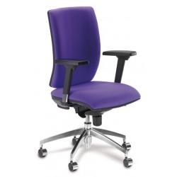 Silla de oficina pop syncro, brazos regulables 2d y asiento regulable en altura.