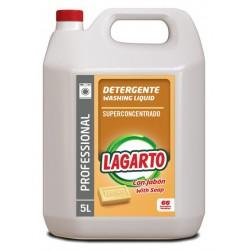 Detergente líquido Skip para máquinas, garrafa de 10 litros.