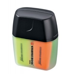 Marcador fluorescente stabilo boss mini en colores surtidos, estuche mini boss de 4 uds.