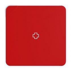 Armario para medicinas paperflow en color rojo.