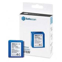 Batería de litio recargable lb-105 para detectores de billetes falsos safescan 155-s, 165-s y 185-s.