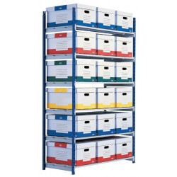 Estanteria modular paperflow rango plus módulo adicional de 540 mm.