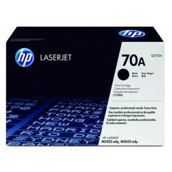 Toner laser hewlett packard laserjet m5025mfp, 70A negro.