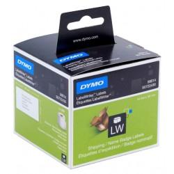 Etiqueta dymo labelwriter de 101x54 mm. en papel blanco, caja de 1 rollo de 220 uds.