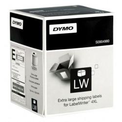 Etiqueta dymo labelwriter de 50x12 mm. en papel blanco, caja de 1 rollo de 220 uds.