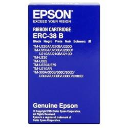 Cinta impresora matricial epson tm-300a/300b/u200d/u210d erc-38b.