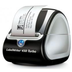 Impresora electrónica dymo labelwriter 450 turbo.
