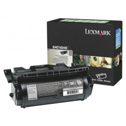 Toner laser lexmark optra t-640/642/644 negro.