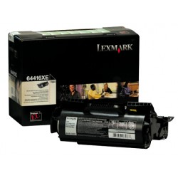 Toner laser lexmark optra t-644 negro.