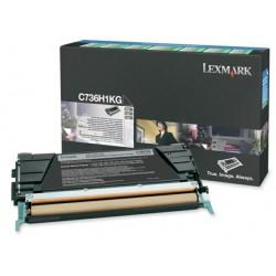 Toner laser lexmark c736/x736/738 negro.