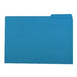 Subcarpeta cartulina con pestaña derecha gio by elba en formato folio, color amarillo.