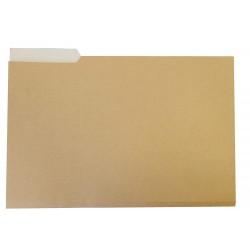 Subcarpeta cartulina con pestaña izquierda gio by elba en formato folio, color amarillo.