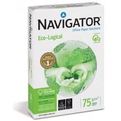 Papel navigator eco-logical din a-4 de 75 grs. paquete de 500 hojas.