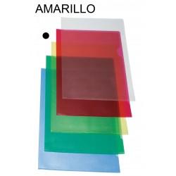 Dossier con uñero en pvc grabado grafoplas en formato folio color verde transparente.