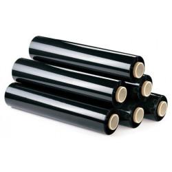 Bobina de film estirable para paletizar jn manual 500 mm. 23 micras. 2 kg. negro.