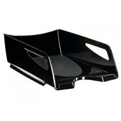 Bandeja portadocumentos cep maxi pro de gran capacidad en color negro.