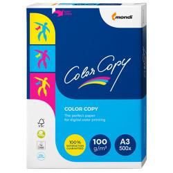 Papel color copy en formato din a-3 de 100 grs. paquete de 500 hojas.