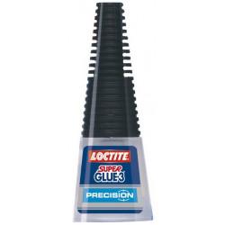 Adhesivo instantáneo loctite super glue-3 de 5 grs.