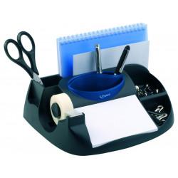 Organizador de sobremesa maped maxi office en color negro.
