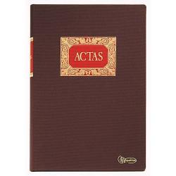 Libro de actas miquel rius en folio natural.
