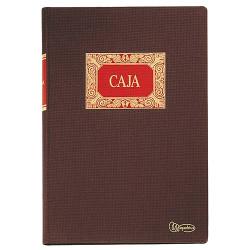 Libro de contabilidad caja (entrada y salida) miquelrius en formato Fº natural, 100 hj. 102 grs.