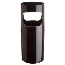 Paragüero de plástico con asas archivo 2000 ref. 2001 de Ø 25,5x64 cm. 30 litros. color negro.