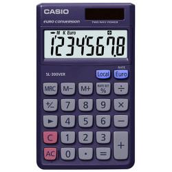 Calculadora de bolsillo casio sl-300ver 8 dígitos.