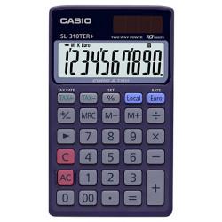 Calculadora de bolsillo casio sl-310ter+ 10 dígitos.