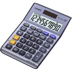Calculadora de sobremesa casio ms-100terII 10 dígitos.
