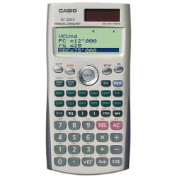 Calculadora financiera casio fc-200v de 10+2 dígitos.