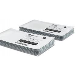 Set de tarjetas de limpieza safescan para contadoras de billetes, blister de 10 uds.