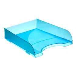 Bandeja portadocumentos archivo 2000 ref. 745 tl en color azul mar translúcido.