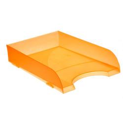 Bandeja portadocumentos archivo 2000 ref. 745 tl en color naranja translúcido.