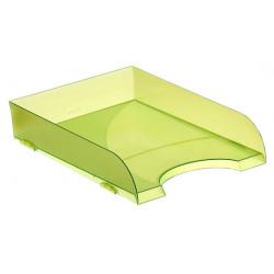 Bandeja portadocumentos archivo 2000 ref. 745 tl en color verde kiwi translúcido.