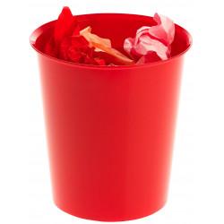 Papelera de polipropileno archivo 2000 ref. 2001 en color rojo.