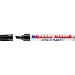 Marcador permanente edding 3300 negro.