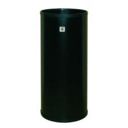 Paragüero metálico cilindro en color negro.