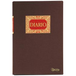 Libro de contabilidad miquelrius diario doble en formato folio natural, 100 hj. 102 grs.