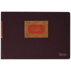 Libro de contabilidad miquelrius caja (entrada y salida) en formato 4º apaisado, 100 hj. 90 grs.