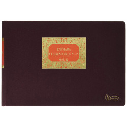 Libro de contabilidadmiquelrius entrada de correspondencia en formato folioapaisado, 100 hj. 102 grs.