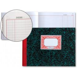 Libro miquelrius cartoné mayor en formato 4º apaisado, 100 hj. 70 grs.