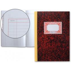 Libro miquelrius cartoné cuentas corrientes en formato Fº natural, 100 hj. 70 grs.