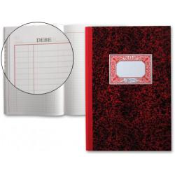Libro miquelrius cartoné mayor en formato Fº natural, 100 hj. 70 grs.