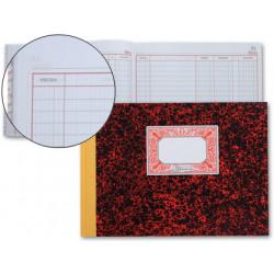 Libro miquelrius cartoné cuentas corrientes en formato 4º apaisado 100 hj. 70 grs.