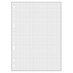 Recambio de anillas con 16 taladros multifin 3005 en formato folio natural, 50 hj. 90 grs. 4x4, s/m.