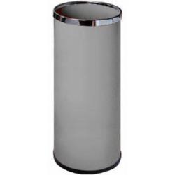Paragüero metálico sie 301 de 20 litros de capacidad en color gris.