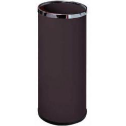 Paragüero metálico sie 301 de 20 litros de capacidad en color negro.