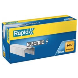 Grapas rapid 44 strong galvanizadas 44/7, caja de 5.000 uds.