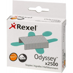 Grapas rexel odyssey galvanizadas, caja de 2.500 uds.