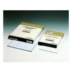 Etiquetas unioffice en papel continuo de 89x36 mm. / 2 c-2.400 uds.